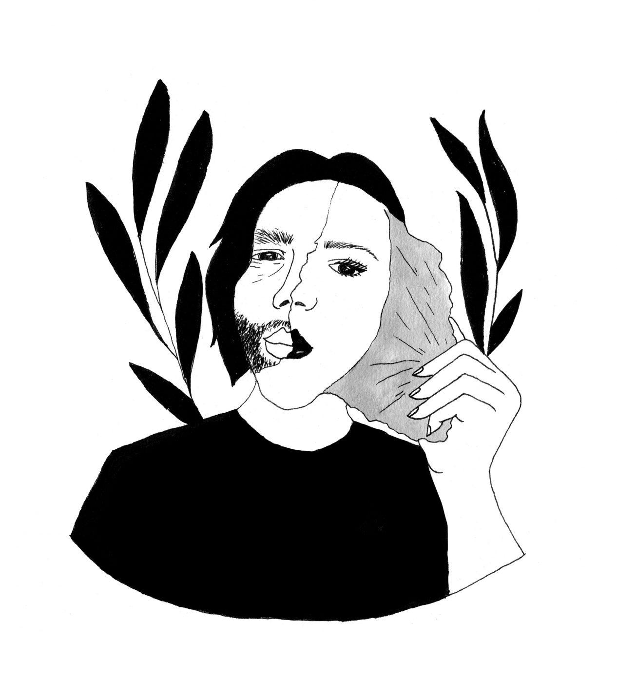 Roseaux, magazine féministe  Louve Souci
