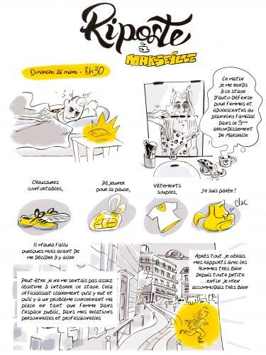 Riposte à Marseille: récit d'un stage d'autodéfense féministe, Roseaux, magazine féministe