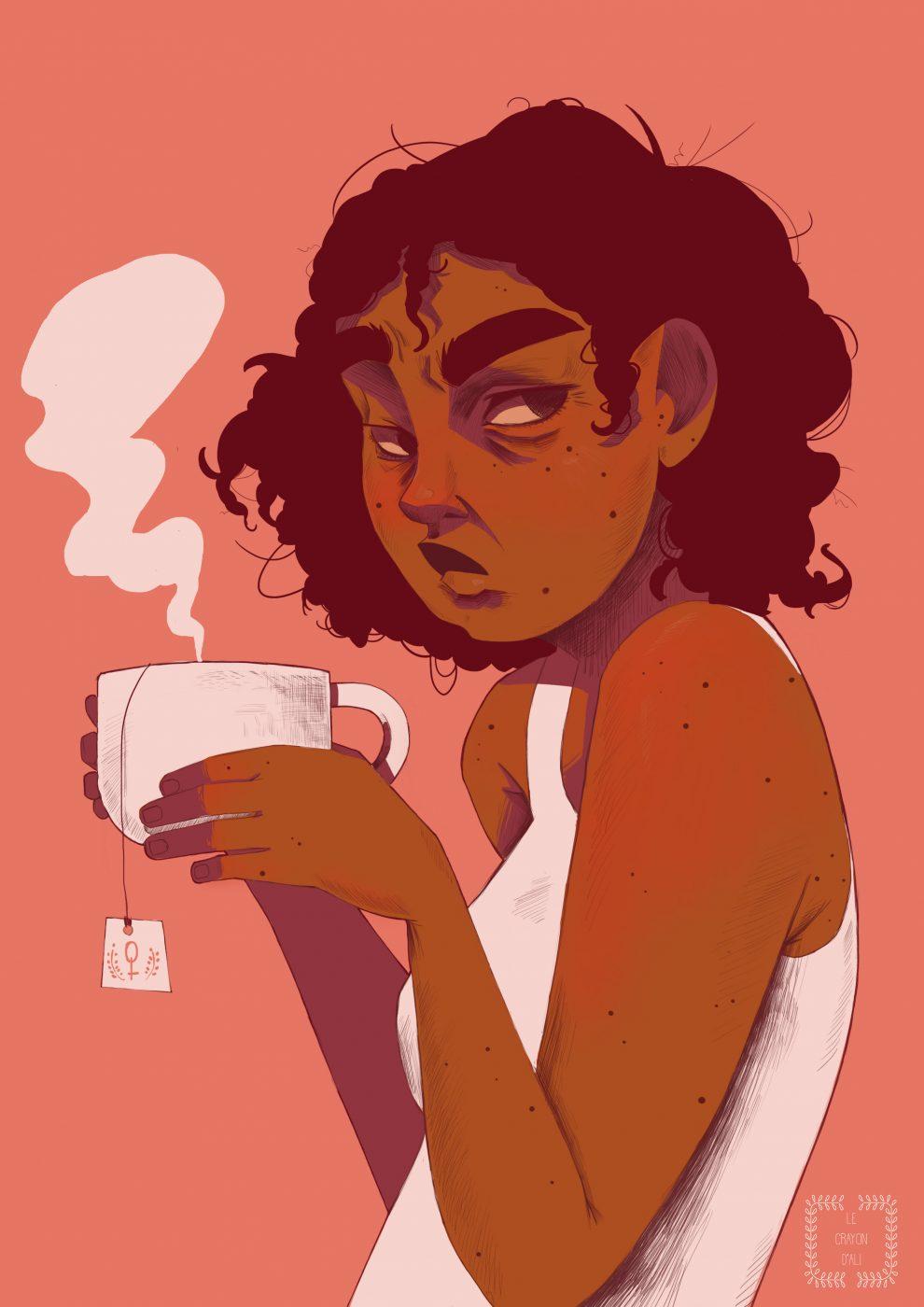 Roseaux, magazine féministe  Le crayon d'Ali