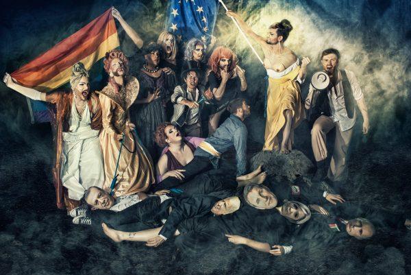 Travestie für Deutschland, tantes épatantes, Roseaux, magazine féministe